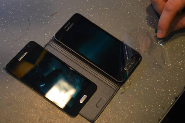 Замена дисплея на Samsung Galaxy A3