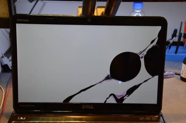 Замена дисплейной матрицы ноутбука